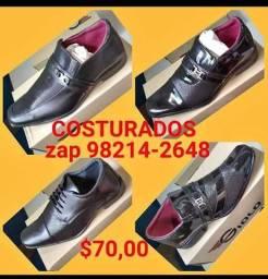 Sapatos sociais costurados marca giolo(garanta logo o seu)