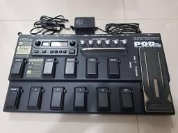 Pedaleira Line 6 Pod XT Live para guitarra comprar usado  Campinas