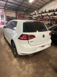 Sucata para retirada de peças- VW Golf 2014