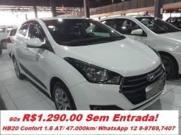 Hyundai HB20 1.6 Automatico/ Unico dono!