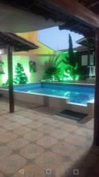 Casa Cidade Jardim, Setor Sudoeste, 3 quartos sendo 1 suite e piscina (casa de madeira)