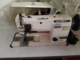 Maquina costurar plana 2 agulhas  indústrial Calçados