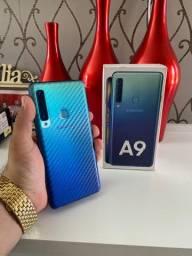 Galaxy A9 Azul 128GB/6GB RAM (Sem biometria)