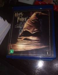 Coleção filmes do Harry Potter Blu ray