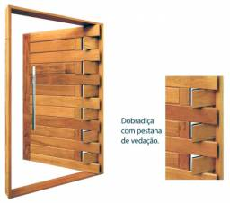 Porta pivotante madeira de luxo a pronta entrega- parcelamos em 10x- entregamos