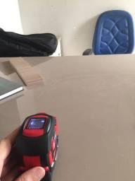 Trena a laser e de tape de nylon