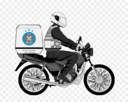Entregador de Burguer com moto própria