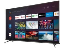 Smart tv 4k led 50 semp t android wi-fi com frete grátis