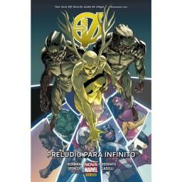 Hq Marvel Os Vingadores- 2 Hq Saga do infinito Capa dura negociamos o frete