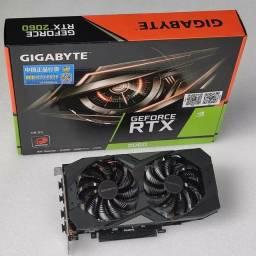 Placa de video GeForce rtx 2060 6gb gddr6