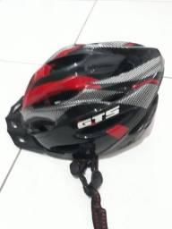 Capacete mountain bike speed  com led