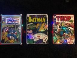 Placas em metal DC quadrinhos