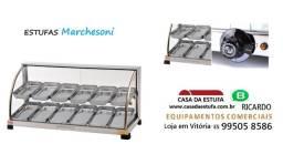 estufas para salgados   = novas com nf e garantia