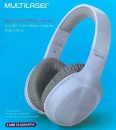 Headphone Fone Bluetooth Multilaser PH247 Nota e Garantia - Aceito Cartão