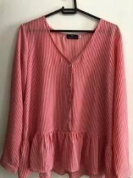Blusa Listrada da Lily Fashion M