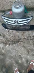 Grades parachoque dianteiro Toyota etios