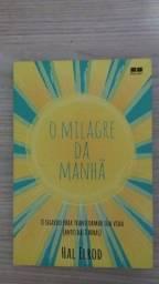 """Livro """"o milagre da manhã"""""""