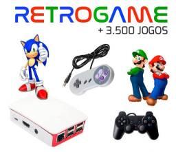 Video Game Retrô Raspbery