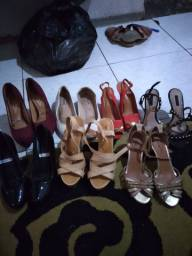 7 pares de sapato por 80 reais .