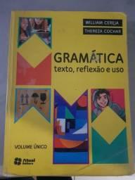 Livro Gramática texto, reflexão e uso Atual