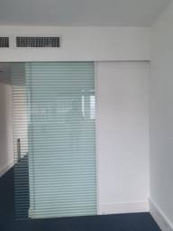 Porta de blindex com puxador de 1,20 x 2,30