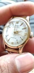 Vendo ou troco por algo do meu intereço!! relógio MIDO todo foliado a ouro