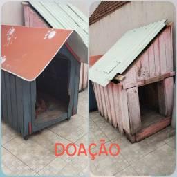 Doação de casinhas para cachorros