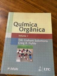 Química Orgânica Vol.1 9° Edição T.w. Gragam Solomons Craig em ótimo estado