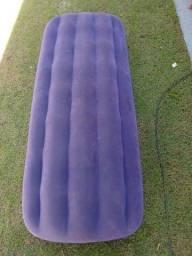 Colchão inflável usado Intex