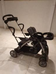 carrinho bebê graco duplo - 2 lugares / gêmeos