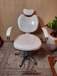 Cadeira para salão reclinavel