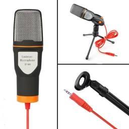 Microfone Condenser SF-666 Preto