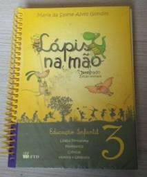 Livro Lápis na mão 3  Educação infantil novo