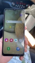 Samsung a12 64 gigas trincado na tela