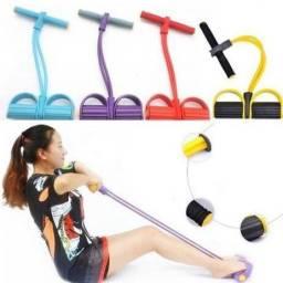 Elástico exercício físicos pernas braço abdominal