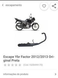Escapamento Original Factor 125