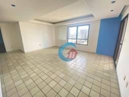 Apartamento com 2 dormitórios para alugar, 123 m² por R$ 2.500,00/mês - Pina - Recife/PE