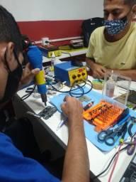Curso manutenção de celulares e tablet