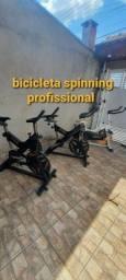 Bicicleta spinning profissional parcelo cartão