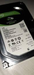 HD 2 Terabytes Seagate 3,5