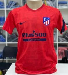Camisa de Futebol Atletico de Madrid