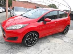"""New Fiesta 1.5 2014 vermelho com rodas 17"""""""