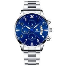Título do anúncio: Relógio Esportivo Masculino Quartz Shaarms Relógio de Aço Inoxidável