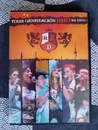 DVD Original - RBD Show - Faço ML.