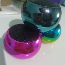 Caixinha de som Bluetooth olho de gato Bluetooth Tws Metal Mini Speaker Amplificada
