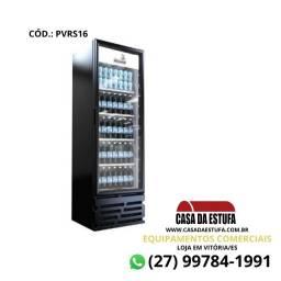 Refrigerador Expositor de Bebidas Visa Cooler 455L Preto - RRS16 - Imbera