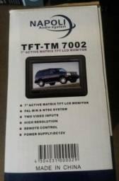 tft tm 7002 7 active matrix monitor lcd para carro