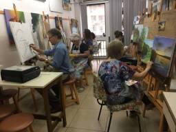 Aulas de desenho e pintura