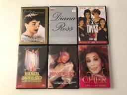Coleção Dvds Musicais Cantoras Americanas !!