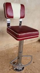Cadeira Giratória Vermelha